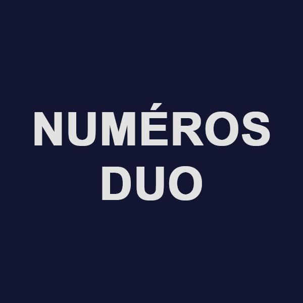 Numéro facile avec l'offre duo